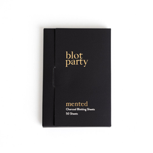Blot Party Charcoal Blotting Sheets by Mented Cosmetics