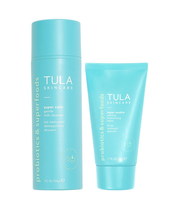 So Gentle Cleanser + Moisturizer For Sensitive Skin Routine by Tula