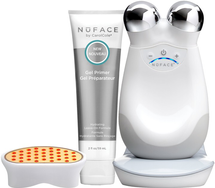 Trinity Facial Toning Device + Wrinkle Reducer Attachment Bundle by nuface