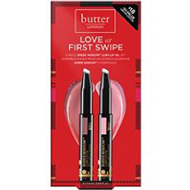 Love at First Swipe Sheer Wisdom Lush Lip Oil Duo by butter