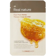 Real Nature Mask Sheet Honey by The Face Shop