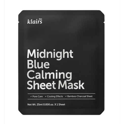 Midnight Blue Calming Sheet Mask by Klairs #2