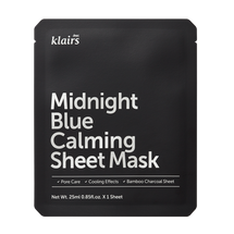 Midnight Blue Calming Sheet Mask by Klairs