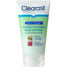 Daily Clear Vitamins And Extracts Wash And Mask by clearasil