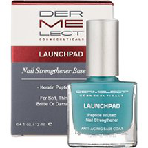 Launchpad Peptide Infused Nail Strengthener Base Coat by dermelect