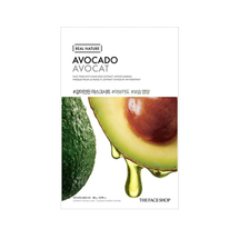 Real Nature Mask Sheet Avocado by The Face Shop