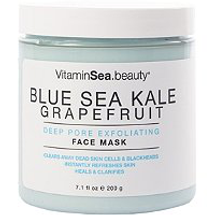 Sea Kale Grapefruit Deep Pore Exfoliating Face Mask by VitaminSea.beauty