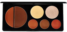 Flawless Face Contour Palette - Deep by eve pearl