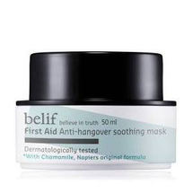 First Aid Anti Hangover Soothing Mask by belif