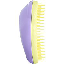 Compact Flower Detangling Hair Brush Pink Yellow by tangle teezer