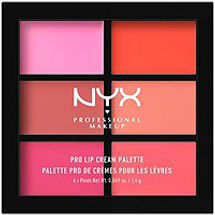 Pro Lip Cream Palette - The Pinks  by NYX Professional Makeup