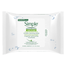 Kind To Skin Micellar Makeup Remover Wipes by Simple