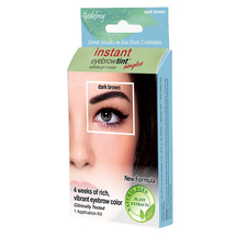 Instant Eyebrow Tint Permanent Eyebrow Color Kit by godefroy