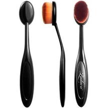 Toothbrush Shaped Powder Makeup Foundation Brush Blackbrownsize 583 by Zodaca