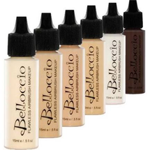 Flawless Airbrush Makeup Foundation Set  by belloccio