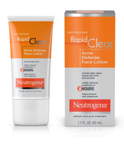 Rapid Clear Acne Defense Oil-Free Face Lotion & Moisturizer by Neutrogena