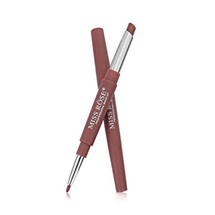 Double-End Matte Lipstick & Lip Liner by miss rose