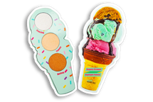 REAL Ice Cream Cone Highlight Palette by Sugary Cosmetics