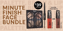 Minute Finish Face Bundle by The Lip Bar