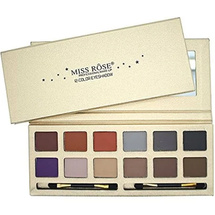 Eyeshadow Palette With Makeup Brush  by miss rose