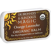 Dr. Bronner's and Sun Dog's Magic Organic Balm Orange Lavender by dr bronners