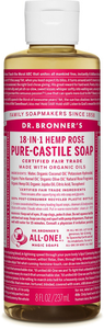 Rose Liquid Soap by dr bronners