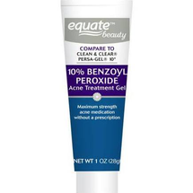 10% Benzoyl Peroxide Acne Treatment Gel by equate