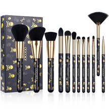 Goth - 12 Piece Makeup Brush Set by Docolor