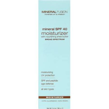 Mineral SPF 40 Facial Moisturizer by mineral fusion