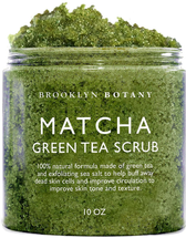Matcha Green Tea Body Scrub by Brooklyn Botany