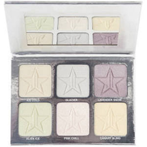 Holiday Glitter Collection Platinum White Ice Skin Frost by Jeffree Star