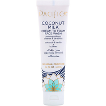 Coconut Milk Cream To Foam Face Wash by pacifica