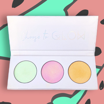 Highlighter Trio Palette - WATERMELON by Love Luxe Beauty