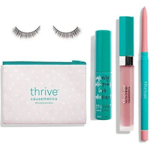 Pink Lips + Lashes Set by Thrive Causemetics