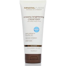 Creamy Brightening Cleanser by mineral fusion