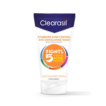 Stubborn Acne Control 5 in 1 Exfoliating Face Wash by clearasil