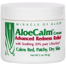 AloeCalm Advanced Redness Relief Cream by miracle of aloe
