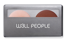Natural Highlight & Contour Duo - Universal Glow & Natural Tan by w3ll people