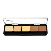 HD Glamour Creme Palette - Hi-lite Contour Light by graftobian