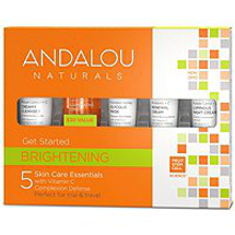 Get Started Brightening 5-Piece Kit by andalou naturals