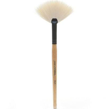 White Fan Brush Rose Gold by Jane Iredale
