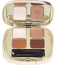 Smooth Eye Color Quad Eyeshadow Desert 123 Compact by Dolce & Gabbana