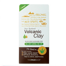 Volcanic Clay Black Head Aloe Nose Strip by The Face Shop