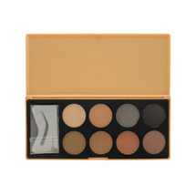 8 Color Eyebrow Palette by Crown Brush