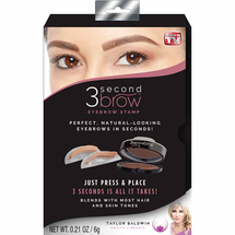 3 Second Brow Eyebrow Stamp Kit by Taylor Baldwin Health & Beauty