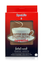 Natural Extract Cappuccino Coffee Break Facial Masks by my spa life