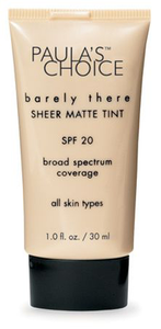 Barely There Sheer Matte Tint SPF 20 by Paula's Choice
