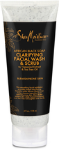 African Black Soap Facial Wash And Scrub by SheaMoisture