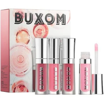 Rose Everyday Plumping Lip Gloss Mini Kit by Buxom