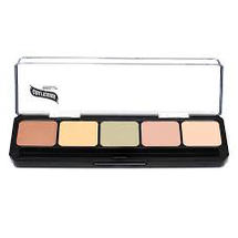 HD Glamour Creme Palette Corrector - Light by graftobian